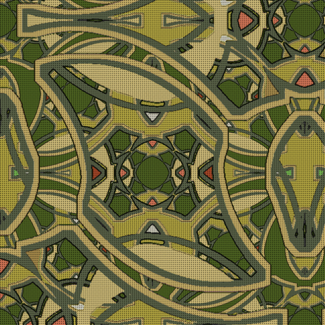 Chronology of Color (Olive 2) fabric by david_kent_collections on Spoonflower - custom fabric