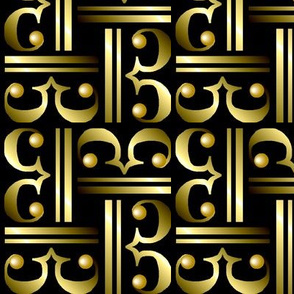Metallic Alto Clefs