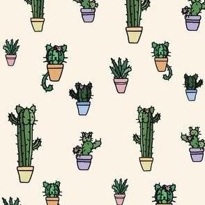 CATcus (Cat Cactus) - Cream Variant