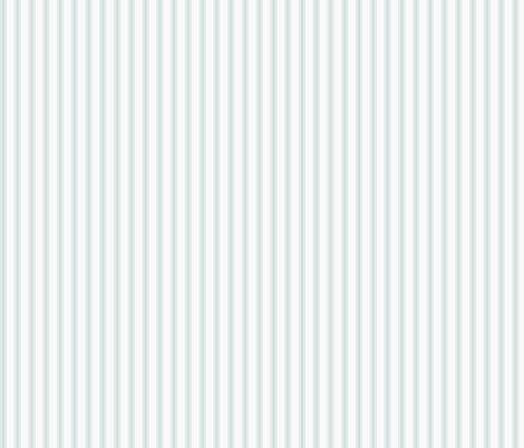 Ticking Stripe: Light Watery Blue fabric by dept_6 on Spoonflower - custom fabric