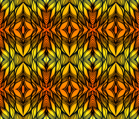 Kaleidoscope fabric by basart on Spoonflower - custom fabric