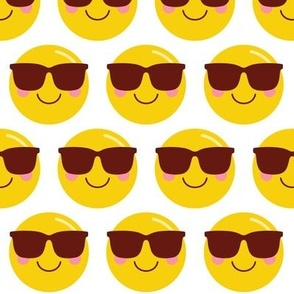 cheeky emoji faces cool shades dude LG