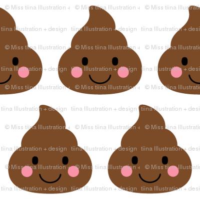 cheeky emoji faces oh poop