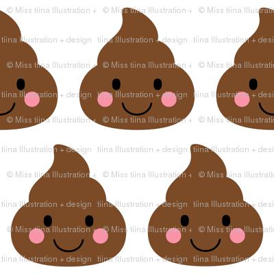 cheeky emoji faces oh poop XL