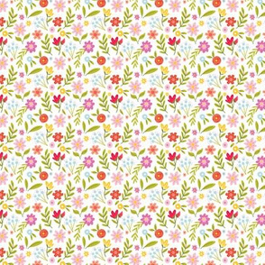 SMALL Hello Spring Floral