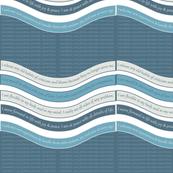 WAVE-MBBL Milky Blue / Bluestone