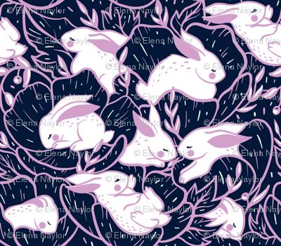 Where the bunnies sleep (miniature)
