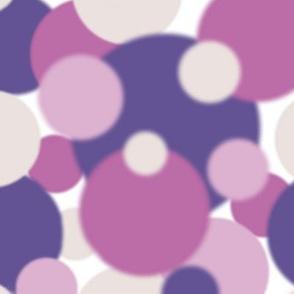 Ultra Violet Pink Lavender blur dots