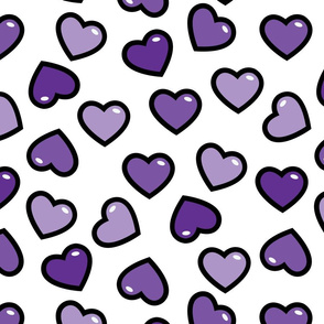 aloha hearts grape