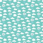 aloha clouds w rain