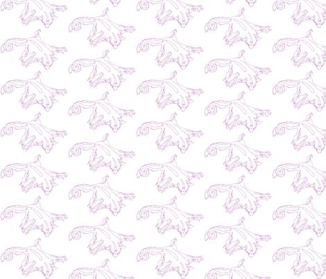 Purple Sketch Sugar Glider fabric by dichroic on Spoonflower - custom fabric