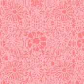 Pink Damask Batik