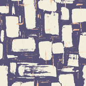 Abstract Painted Brushstrokes—Purple