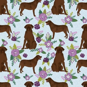labrador retriever chocolate lab pet quilt c quilt floral coordinates dog fabric