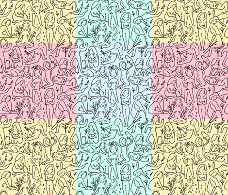 Naked wrapping paper