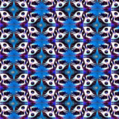 4raccoons4spoon fabric by fourraccoons on Spoonflower - custom fabric