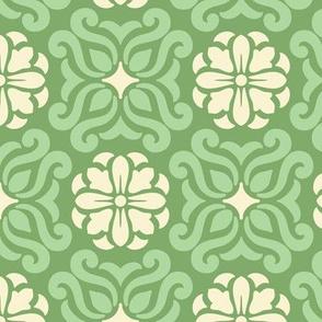 Geometric Zen Green