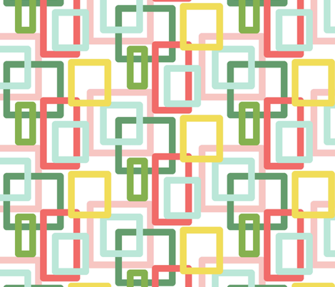 pastel square print fabric by jade_lavey on Spoonflower - custom fabric