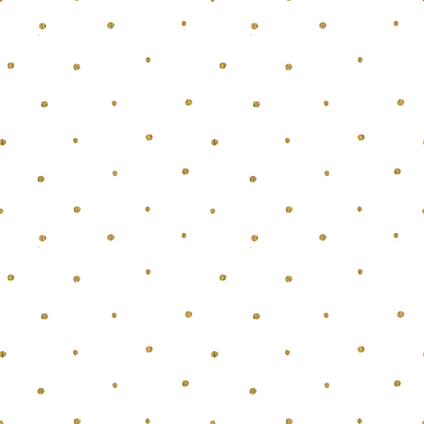 Gold Mini Dots fabric by hipkiddesigns on Spoonflower - custom fabric
