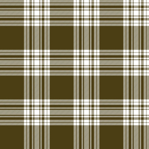 Menzies brown tartan, 6""