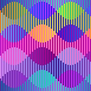 Interleave-blue-purple-yellow-green-rotated