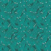teal-emerald-floral