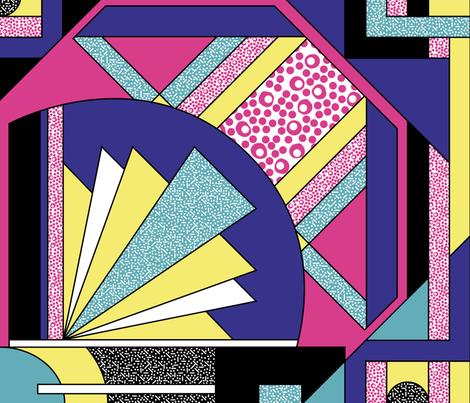 Miami Beach fabric by mimihammill on Spoonflower - custom fabric