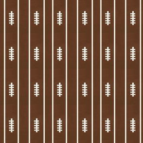 football brown  VERTICAL 6 - strings and stripes