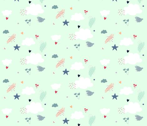 Pretty Confetti fabric by nicibrockwell on Spoonflower - custom fabric