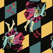 Hibiscus Deco Dance