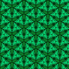 "Jungle Symmetry 6"" Repeat"