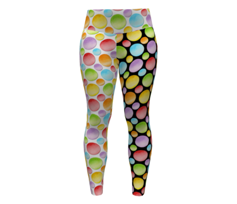 Big Rainbow Polka Dots
