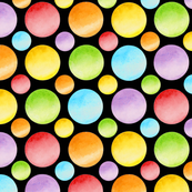 Candy Rainbow Polka Dots