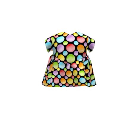 Candy Rainbow Big Polka Dots