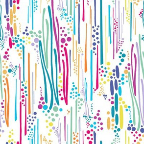 Rainbow Doodle & Dot