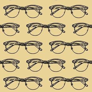 Eye Glasses // Khaki // Large