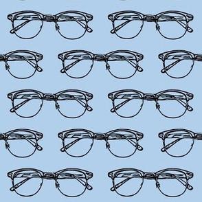 Eye Glasses // Blue // Large