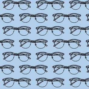 Eye Glasses // Blue // Small