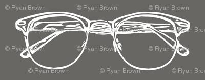 Eye Glasses // Slate Grey // Large