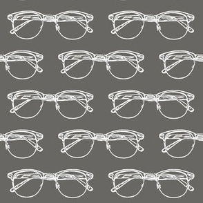 Eye Glasses // Slate Grey // Large
