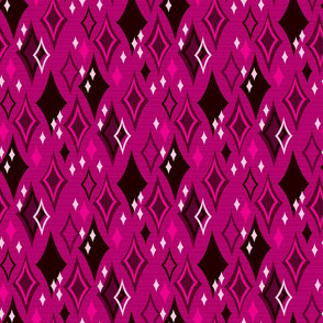 Diamond Shower (Magenta)