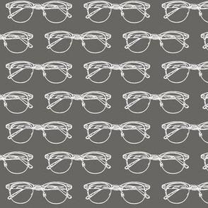 Eye Glasses // Slate Grey // Small