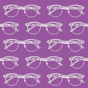 Eye Glasses on Orchid // Large