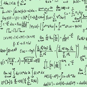 Math Notes on Green // Large