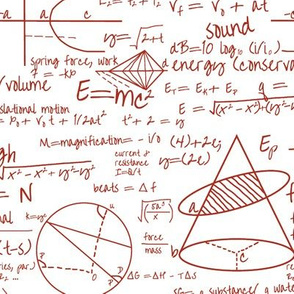 Common Equations in Red Ink // Small