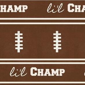 football vintage HBrick 7 -  li'l champ