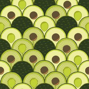 avodeco (avocados in art deco) supersized