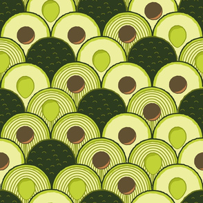 avodeco (avocados in art deco) large