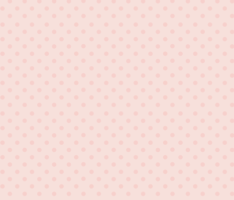 Dotty Light Rose Gold Polka Dots Wallpaper Designed By
