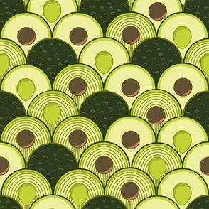 avodeco (avocados in art deco)